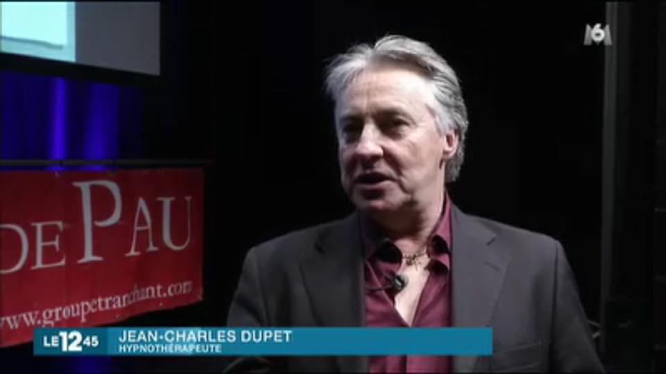 Jean-Charles Dupet interview du journal télévisé M6
